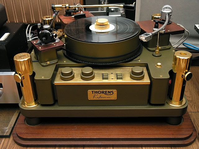 steve 39 s thorens reference turntable. Black Bedroom Furniture Sets. Home Design Ideas