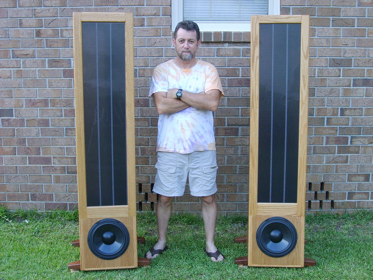 Steve S Do It Yourself Electrostatic Speakers Project Jazzman Esl Diy Project By Charlie