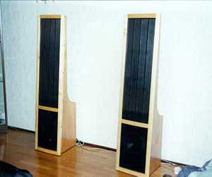 Sami's DIY Electrostatic loudspeakers